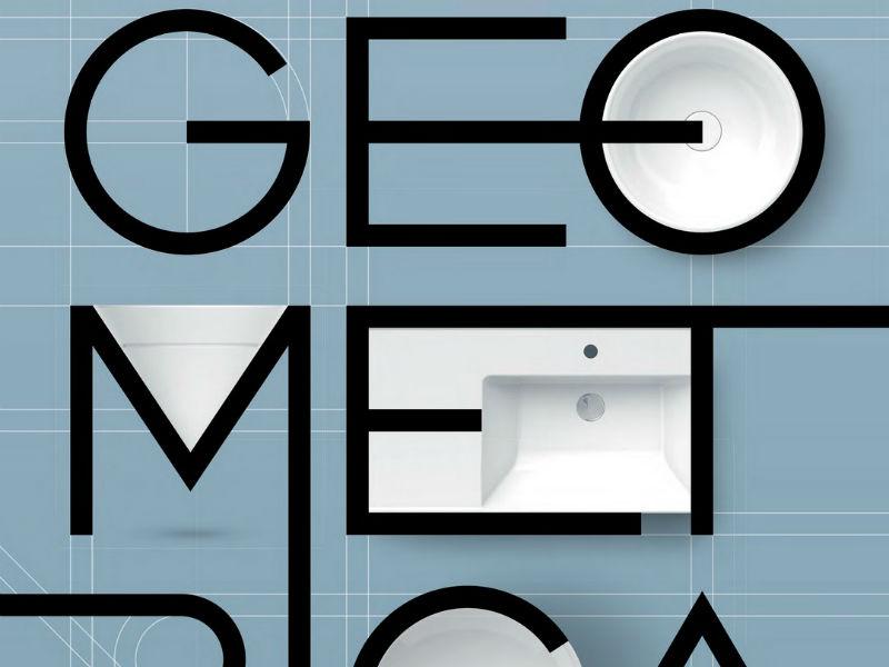 GEOMETRICA - коллекция 2020 для ванной комнаты от KERAMA MARAZZI