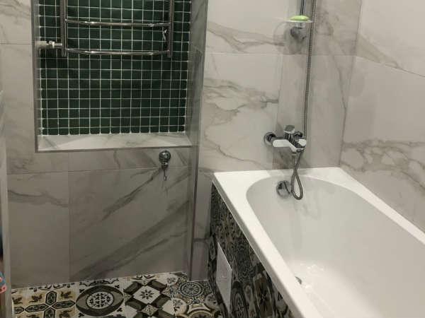 Интересное решение для ванной комнаты