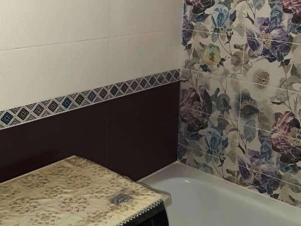 Интересное решение дизайна ванной комнаты
