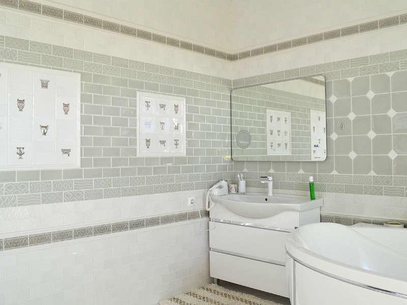 Легкое дыхание античной Италии в современном проекте ванной комнаты