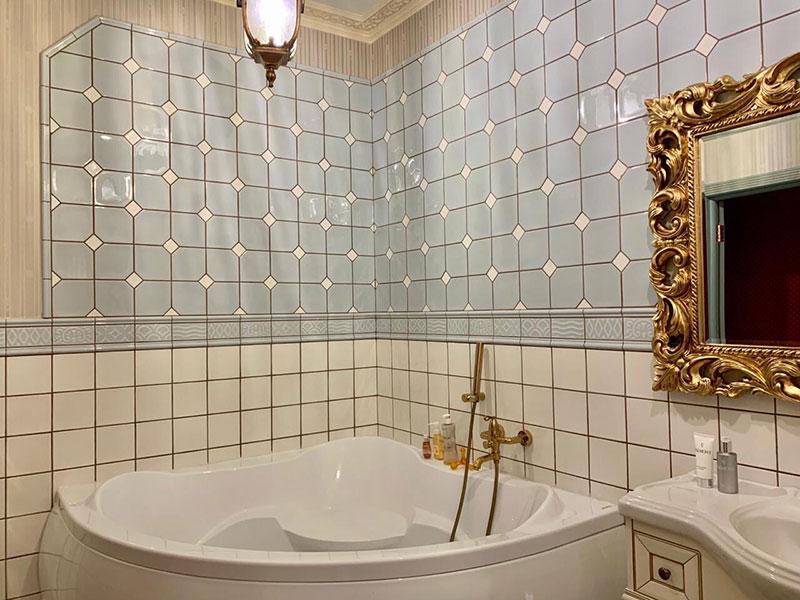 Проект ванной комнаты в частном доме