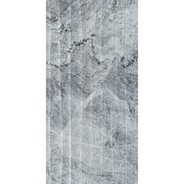 K941291   30X60 VERSUS Декор Серый Глянцевый
