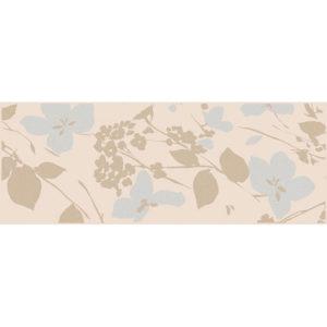 MLD\B67\15084   Декор Вилланелла Цветы беж