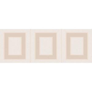 MLD\B68\15084   Декор Вилланелла Геометрия беж