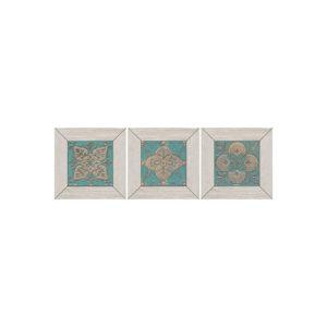 ID57 | Вставка Меранти белый мозаичный