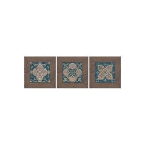 ID60 | Вставка Меранти венге мозаичный