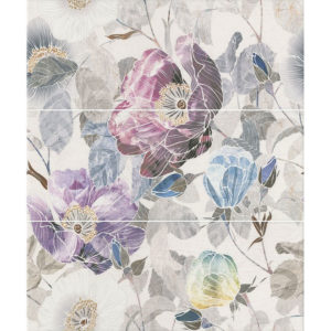 ALD\A36\3x\7071 | Панно Линьяно Цветы, состоит из 3 частей 20х50 (размер каждой части)