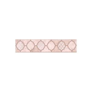 OP\B27\6334 | Бордюр Фоскари розовый
