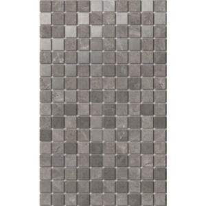 MM6361   Декор Гран Пале серый мозаичный