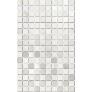 MM6359   Декор Гран Пале белый мозаичный