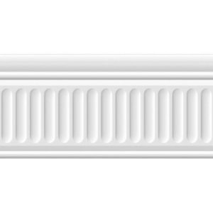 19048\3F | Бордюр Бланше белый структурированный