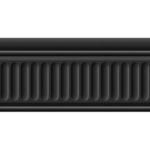 19049\3F | Бордюр Бланше черный структурированный