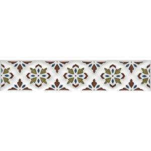 STG\B621\17000   Бордюр Клемансо орнамент