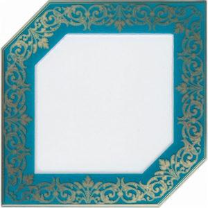 HGD\C250\18000   Декор Клемансо бирюзовый