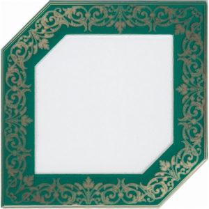 HGD\D250\18000   Декор Клемансо зеленый