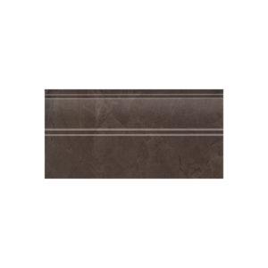 FMA017R   Плинтус Версаль коричневый обрезной