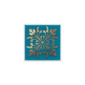 HGD\D252\5246   Вставка Клемансо бирюзовый