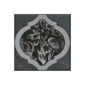 HGD\B263\17052   Декор Фрагонар чёрный