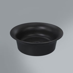 CN.wb.40BLK.M | Раковина CANALETTO 40x40