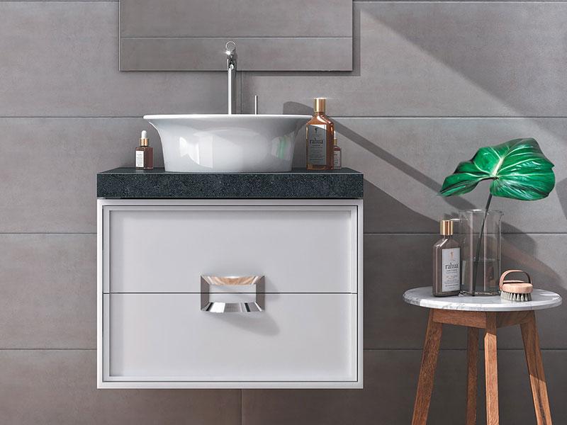 Найдите для себя идеальное сочетание сантехники и мебели для ванной комнаты из новых коллекций KERAMA MARAZZI