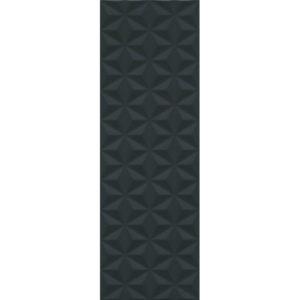 12121R | Диагональ черный структура обрезной