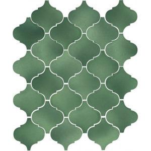 65008 | Арабески Майолика зеленый