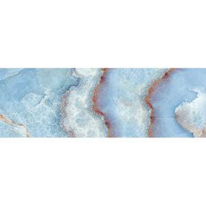 TD-BT-D-BON | Декор Beveled Tile Blue Onyx (стекло)