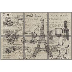 TD-VV-D-PAR   Декор Vintage Voyage Paris
