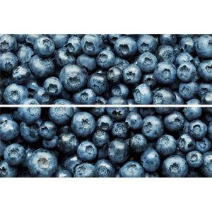 TD-BT-P-BB | Панно Beveled Tile Blueberry (стекло)