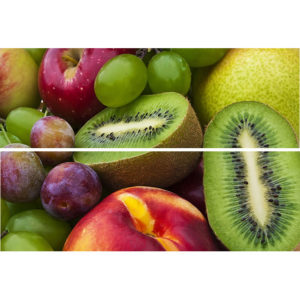 TD-BT-P-FR | Панно Beveled Tile Fruits (стекло)