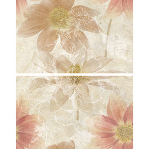 TD-CRM-P-FB   Панно Crema Flower Bunch