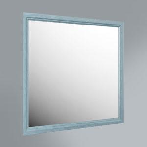 PR.mi.80\BLU   Панель с зеркалом Provence, 80 см синий