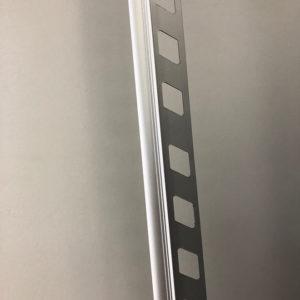 Профиль для ступеней алюминий серебро матовое