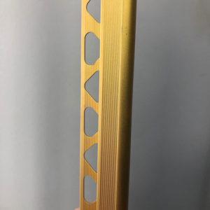 Профиль для ступеней ZET OWAL золото матовое